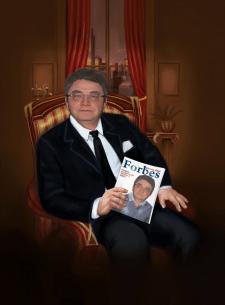 Цифровой портрет в образе