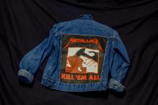 Роспись джинсовой куртки