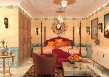 спальня(марокканский стиль)