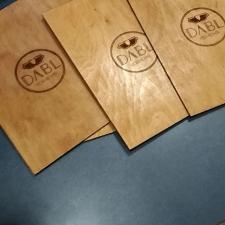 Макеты под гравировку на ЧПУ (подложки для меню)
