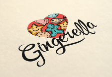 Логотип для стартапа Gingerella