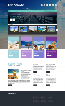 Bon voyage travel agency