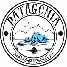 Логотип украинской экспедиции в Патагонию(Чили)