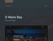 Разработка Лендинга для отеля D Maris Bay