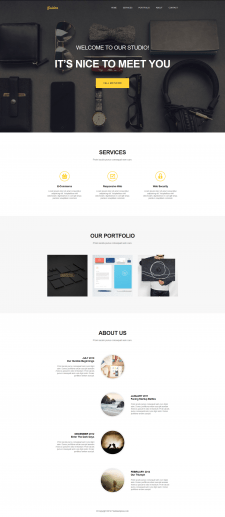Golden - Landing Page