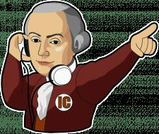 Стикеры Моцарт
