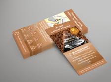 Листовка для кафе «Лиса и сыр»