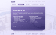 Web design for Kraft