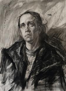 Портрет натурщицы