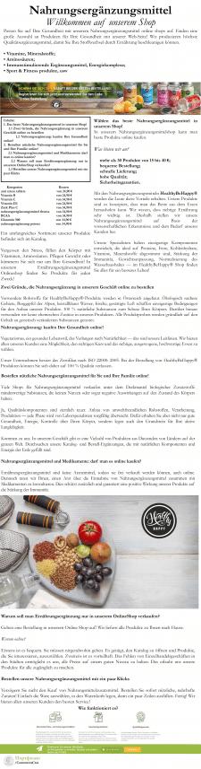 Статья для блога на немецком языке
