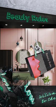 Бренд-дизайн для бутіка манікюрних матеріалів