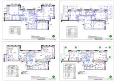 Перепланировка двухуровневой квартиры в несколько