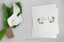 Фирменный стиль для свадьбы B&L