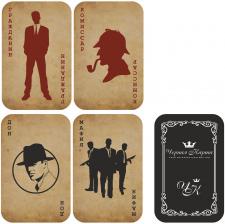 Пластиковые карты для игры в Мафию