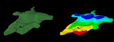Цифровая модель поверхности.