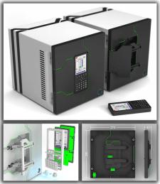 Декоративная панель электрического ящика.