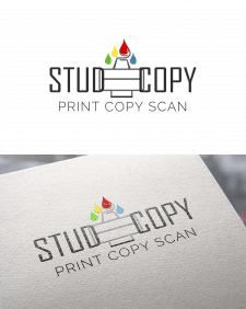 Логотип для типографии STUD_COPY