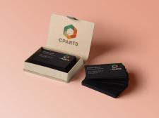Визитки для компании Cparts
