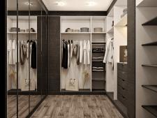 3D моделирование и визуализация гардеробной