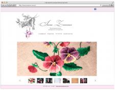 Сайт визитка авторской мастерской