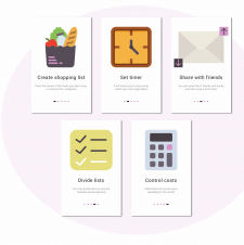 Shopping List App Onboarding