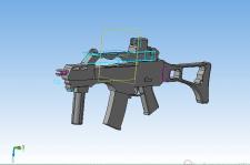 3D-Модель штурмовой винтовки G-36c
