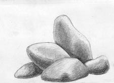 Морской набор. Камни.
