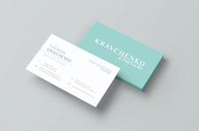 Дизайн визитки для Holgroup