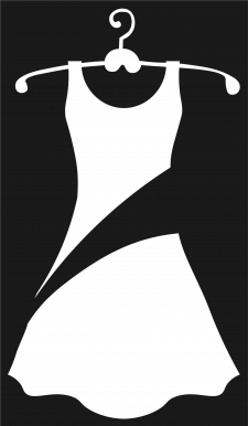 Логотип интернет-магазина платьев