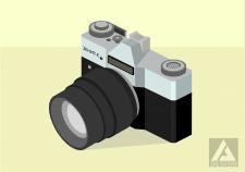 isometric camera