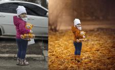 Обработка фотографий (коллаж)