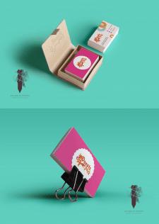 #Дизайн#визитки#Donuts park#