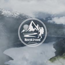Логотип для туристического агенства Novyktravel