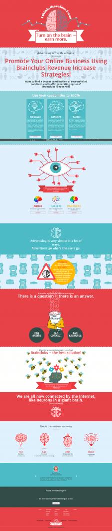 Сайт рекламной платформы.
