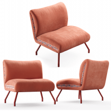 3d модель кресла