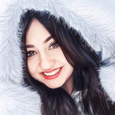 цифровой портрет живопись