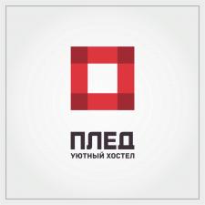 """Разработка дизайна логотипа для сети """"Плед"""""""