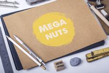 Логотип MegaNuts