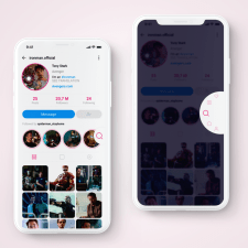Instagram (redesign)
