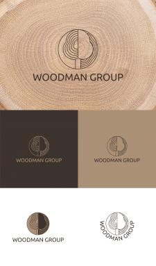 Логотип для деревообробної компанії