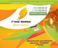"Сайт ""Fine Russia"""