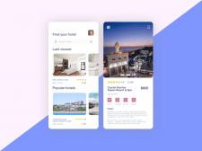 Приложение для поиска отелей