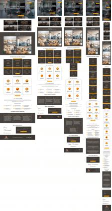 """Сайт для дизайнерской студии """"Алеард"""""""