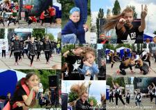 Репортаж с выступления танцевального коллектива