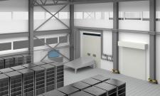 Реконструкция склада, визуализация.