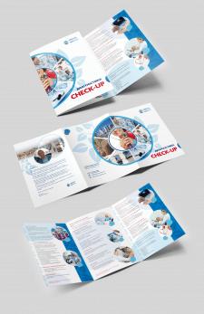 Буклет  3хА4 для медицинского центра ISRAEL EXPRES