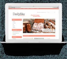 Сайт интернет-магазина «Dailylike»