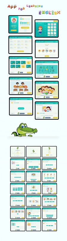 Приложение для обучения детей Английскому языку