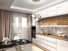 Квартира на Максимовича. Кухня