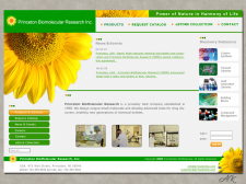 Дизайн сайта для биохимической компании